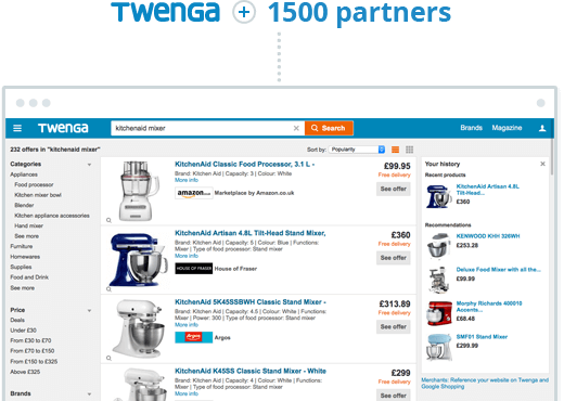 Twenga + 1500 partners